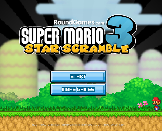 Super Mario Bros 3: Star Scramble