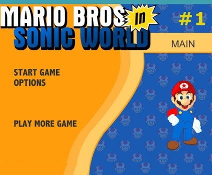 Super Mario Bros In Sonic World